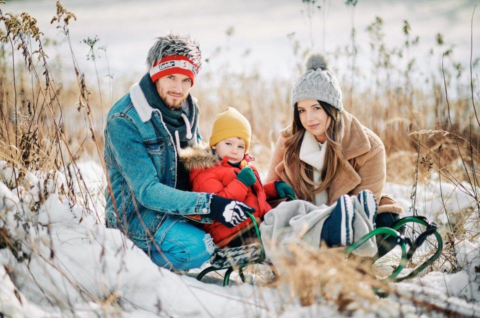 Zimowa sesja rodzinna, Lublin