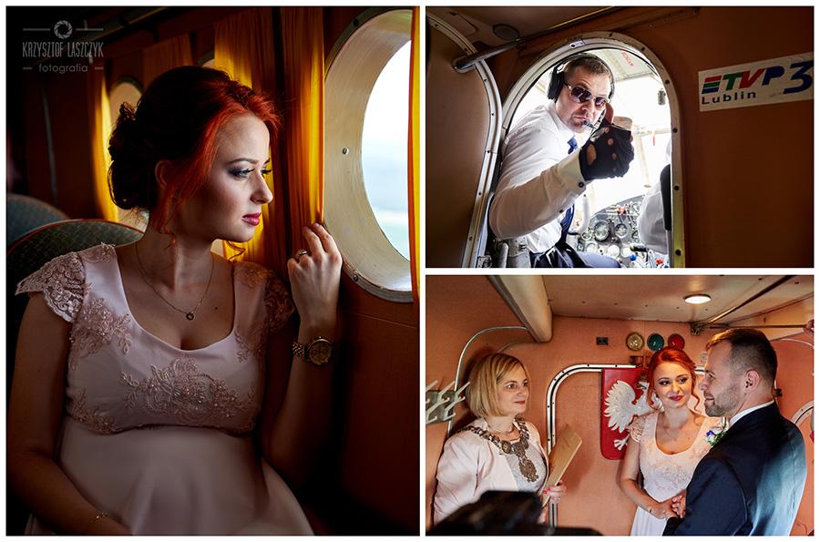 Ślub w chmurach, Patrycja i Piotr – pierwsza taka ceremonia ślubu w Polsce!