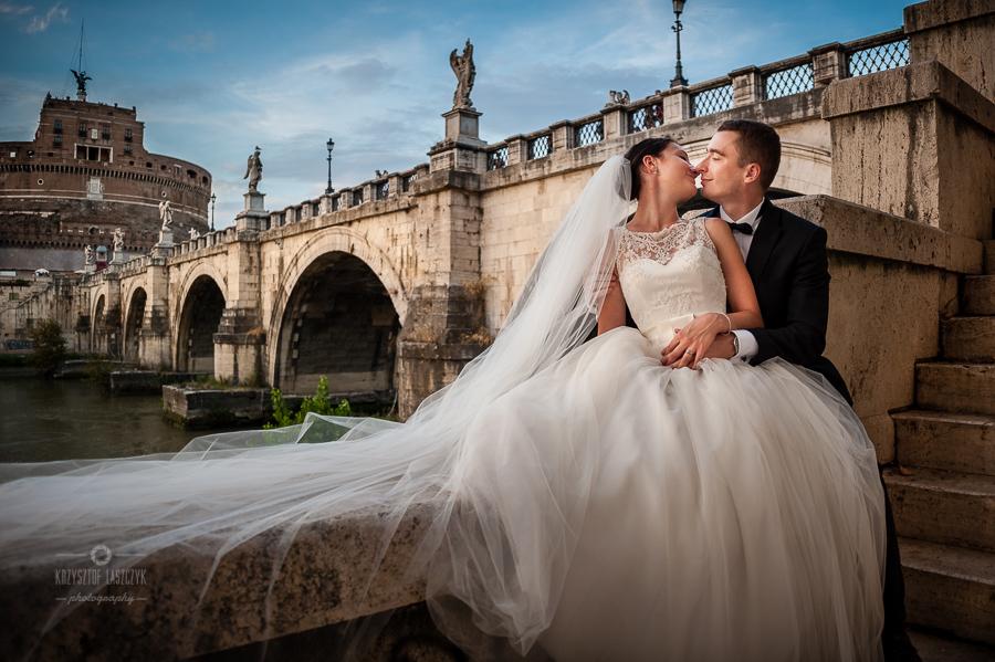 Ślubna sesja plenerowa we Włoszech – Emilka + Paweł