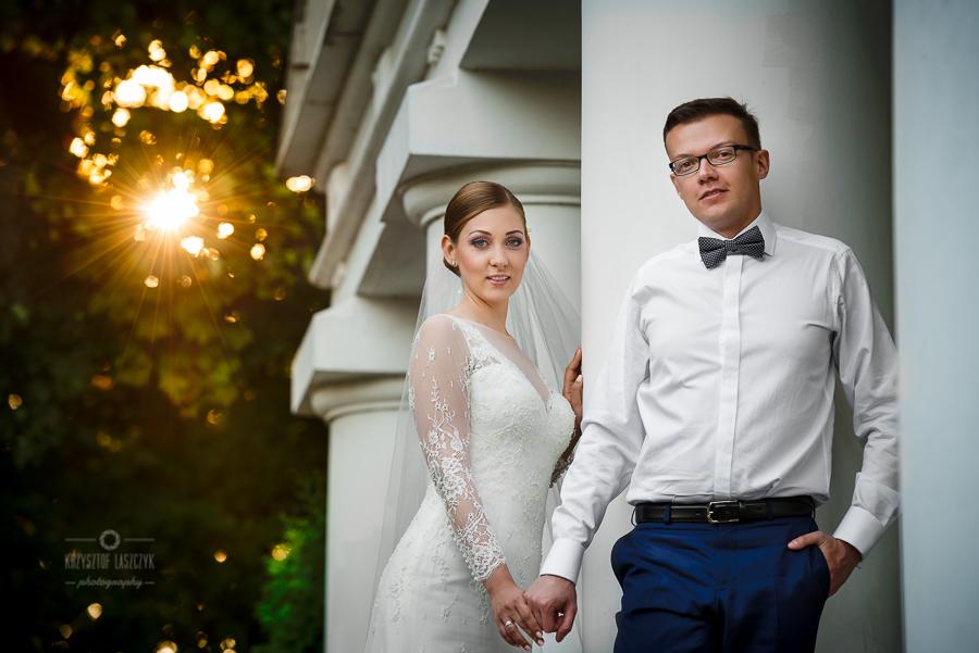 Ślubna sesja plenerowa w Nałęczowie i Kazimierzu Dolnym – Michał & Justyna