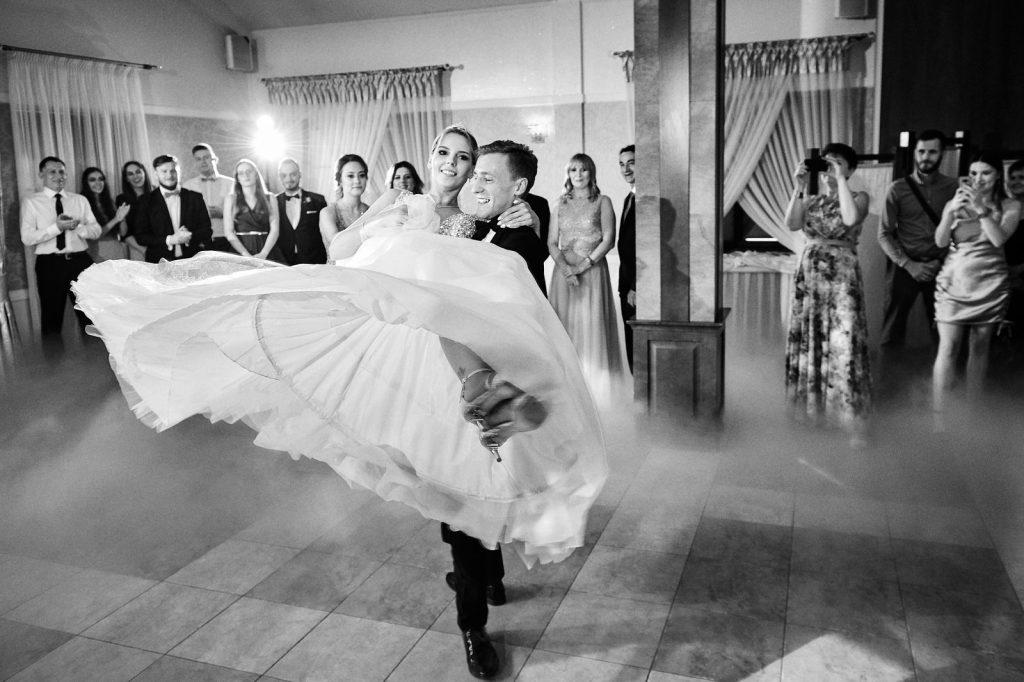 pierwszy taniec Lublin fotograf na wesele